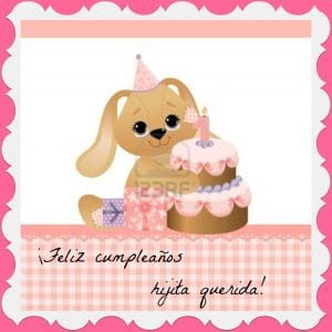 Cumpleaños para una hija